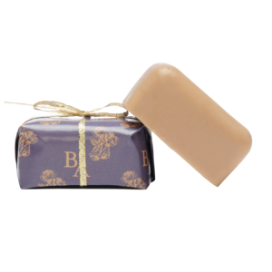 one bar wrapped essential oil soap on bar handmade unwrapped soap
