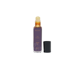 Roll on Bottle of body oil in Lire L'amour scent