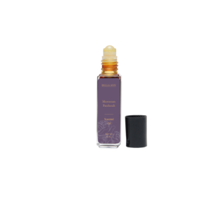 Roll on bottle body oil in Moroccan Patchouli scent