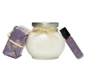 moroccan patchouli scented soap, parfait and body oil