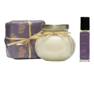 Bella Ann trio of soap, body parfait and body oil in sportsman scent