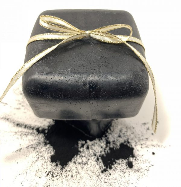 Black soap called black orchid